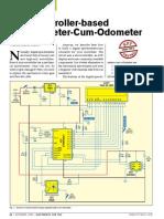 Speedometer Cum Odometer
