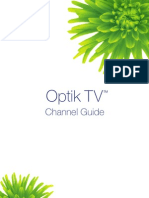 TELUS TV Channel Guide
