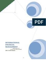 International Financial Manage Men 1