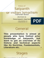 Series 33-E -PPT -Part 1 of 3-Pirana Satpanth -History-English