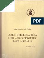 Milan Moguš i Josip Vončina - Salo debeloga jera libo azbukoprotres Save Mrkalja