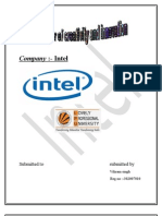 Introduction About the Company Intel