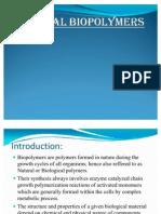Natural Bio Polymers