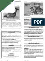 AquaCraft Pro .15 Engine