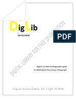 DigLib Catalogue [Ver. 1.2]