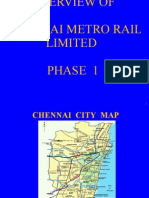 Overview of Chennai Metro