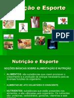 Nutrição e Esporte