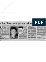 Mr China - Le Parisien (05-06-06)