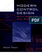 Modern Control Design With MATLAB and SIMULINK
