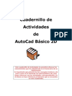 Cuadernillo de Ejercicios_AutoCad 2D