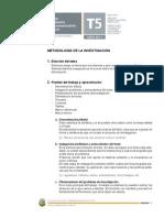 Metodología de la Investigación 2011
