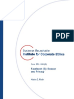 Facebook B Business-ethics Case Bri-1006b