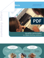 Quality Principles for Digital Learning Resources