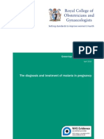 Diagnosis Treatment Malaria