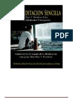 MEDITACION SENCILLA
