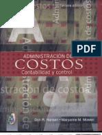 Administracion de Costos - Contabilidad y Control - Hansen - Mowen - Cap I y II