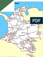 Mapa Pueblos Indigenas Colombia