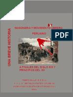 Masoneria y Movimiento Obrero Peruano