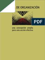 LIBRO LA IDEA DE ORGANIZACIÓN una concepción amplia para una acción efectiva