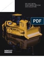 2010 CAT Scale Models Catalog