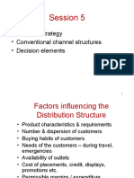 Channel Structures in DLM