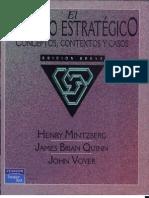 El Proceso Estrategico - Henry Mintzberg - Cap I
