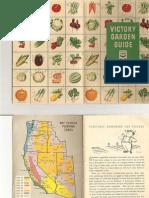 Victory Garden Guide 1943