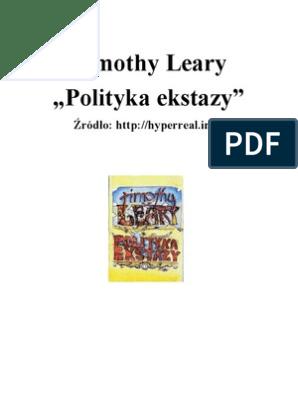 Polityka Ekstazy Tim Leary