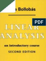 Bollobas Linear Analysis