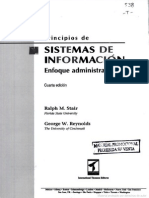 Principios de Sistemas de Informacion - Enfoque Administrativo - Stair - Reynolds - Cap I