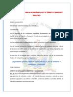 REGLAMENTO GENERAL PARA LA APLICACIÓN DE LA LEY DE TRÁNSITO Y TRANSPORTE TERRESTRES