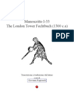 London Tower Fechtbuch Copia