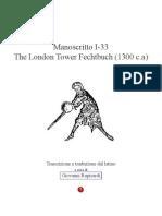 London Tower Fechtbuch Copia
