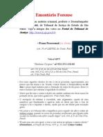 Ementário de Votos - Prazo Processual - 1a. parte