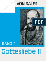 Gottesliebe II - Franz von Sales