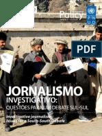 Seminário Internacional sobre Jornalismo Investigativo 18.3.11