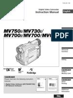 Canon MV 750 Manual