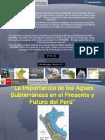 La importancia de las aguas subterráneas en el presente y futuro del Perú. Por Ing.Percy Sulca-INGEMMET