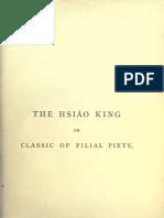 Xiao Jing - The Classic of Filial Piety - Legge