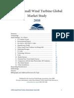 2008 AWEA Small Wind Turbine Global Market Study
