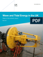 Wave and Tidal Energy in the UK