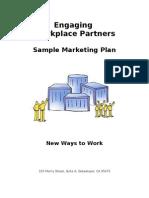 Sample Marketing Plan 2005