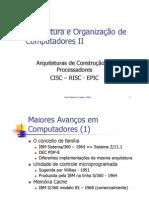 03 - AOC II - Cisc - Risc - Epic