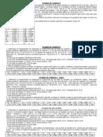Examen de Caminos II Unsa 2007 - i