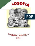 Presentacion de La Unidad Tematica Filosofia