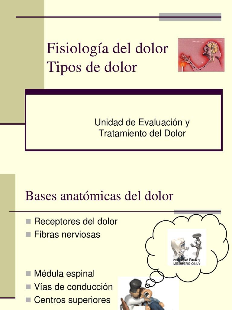 Fisiologia Dolor