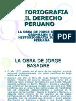 Historiografia Del Derecho Peruano