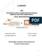 Overview of Retail Operations and Store Promotion in Big Bazaar