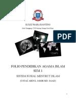 Sistem Sosial Menurut Islam