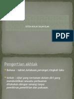 10.Sistem Akhlak Dalam Islam